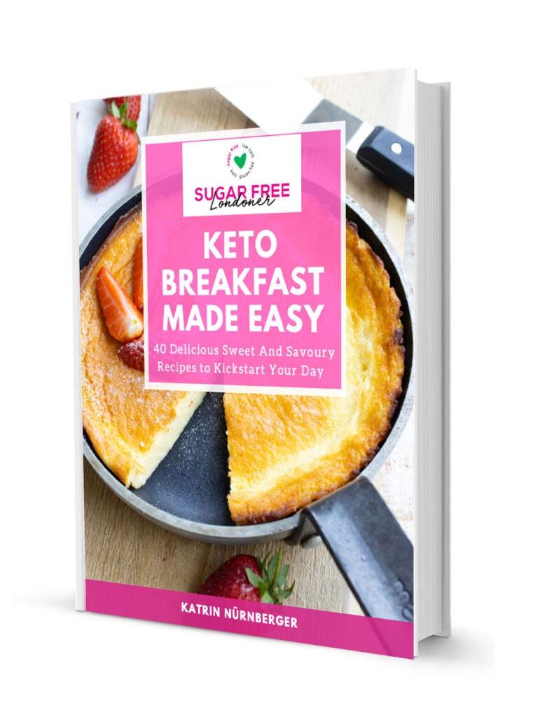 keto breakfast made easy cookbook cover