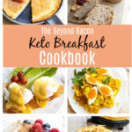 collage of images from the keto breakfast ebook
