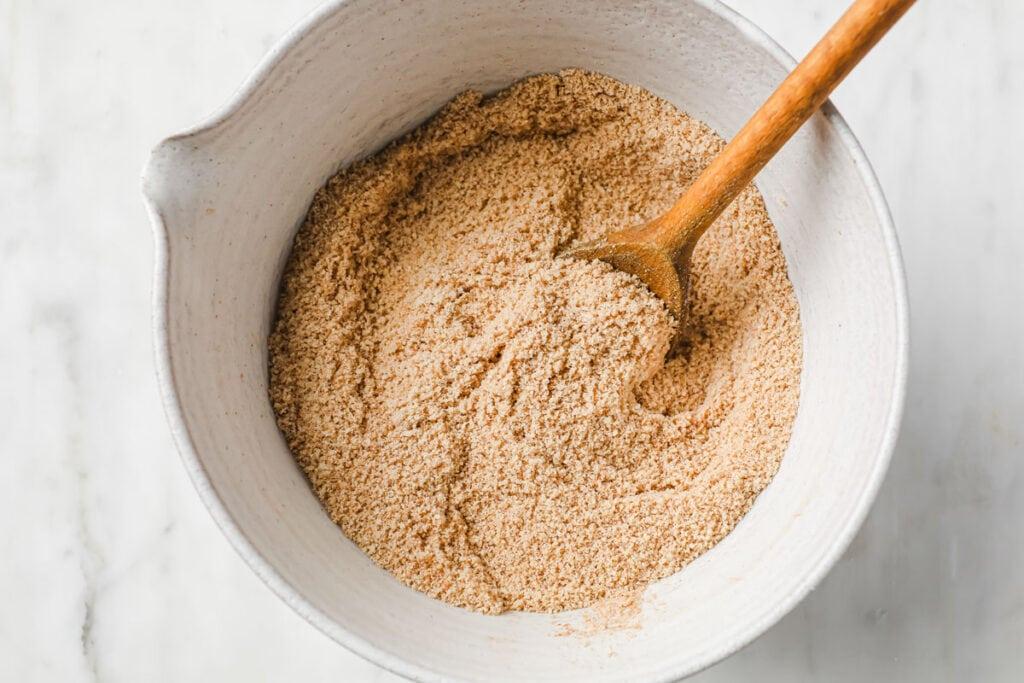stirred dry ingredients